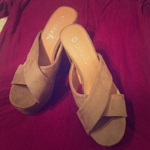 Shoes - Open toe heels
